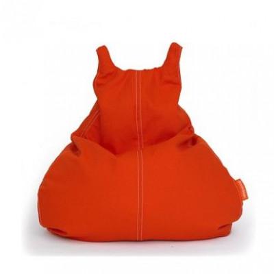 HappyCat Sitzsack aus Baumwollsegeltuch Klein   Rot