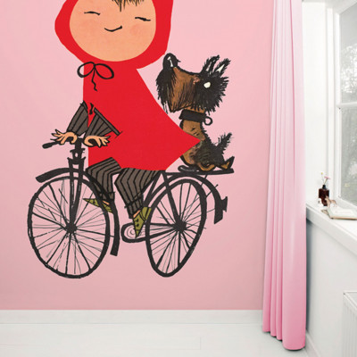 Wallpaper Stories | Riding My Bike In Pink