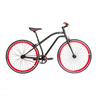 Chill Bikes | Vogue Schwarz - Rot