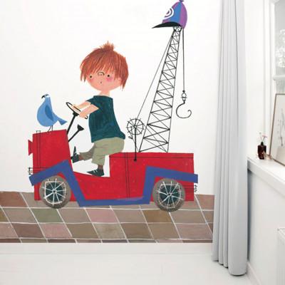 Wallpaper Stories | Red Truck 1