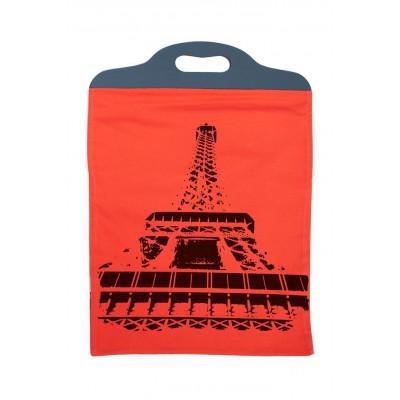 Handtasche Eiffel Orange