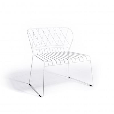 Reso Lounge Chair | Weiß
