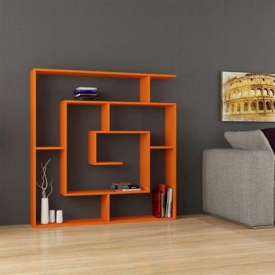 Bibliothekslabyrinth | Orange
