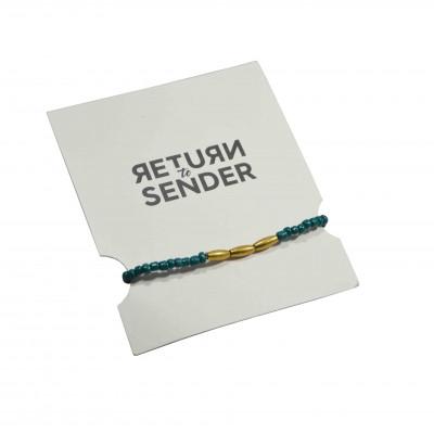 Bracelet Rope | Green / Copper