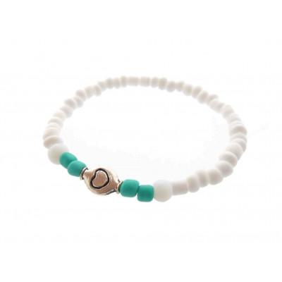 Kids Bracelet Tassel |  White / Pink / Copper