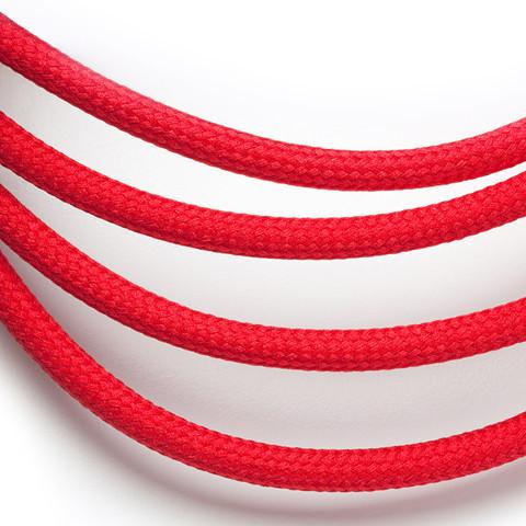 Drop Cap Pendant Set Red