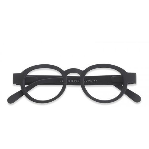 Reading Glasses Circle Twist | Black