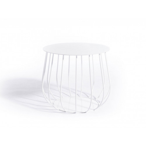 Reso Lounge Table   White 1