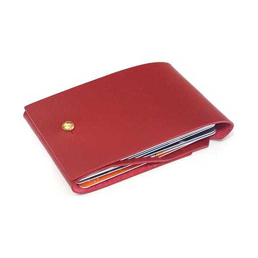 Fan Wallet   Chinese Lantern - Red