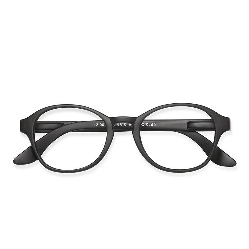 Reading Glasses Circle | Black