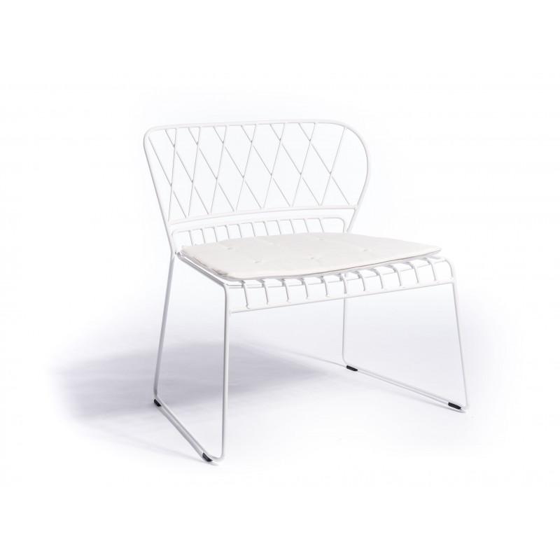 Reso Lounge Chair   White