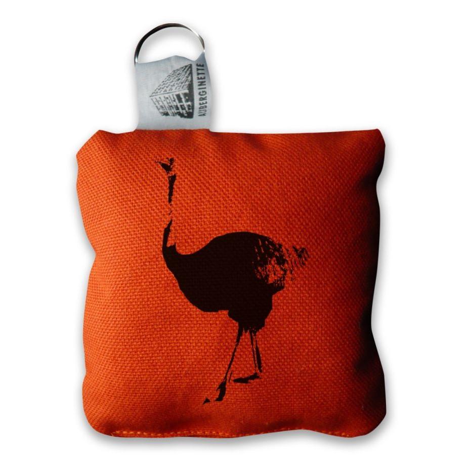 Sleutelhanger Struisvogel