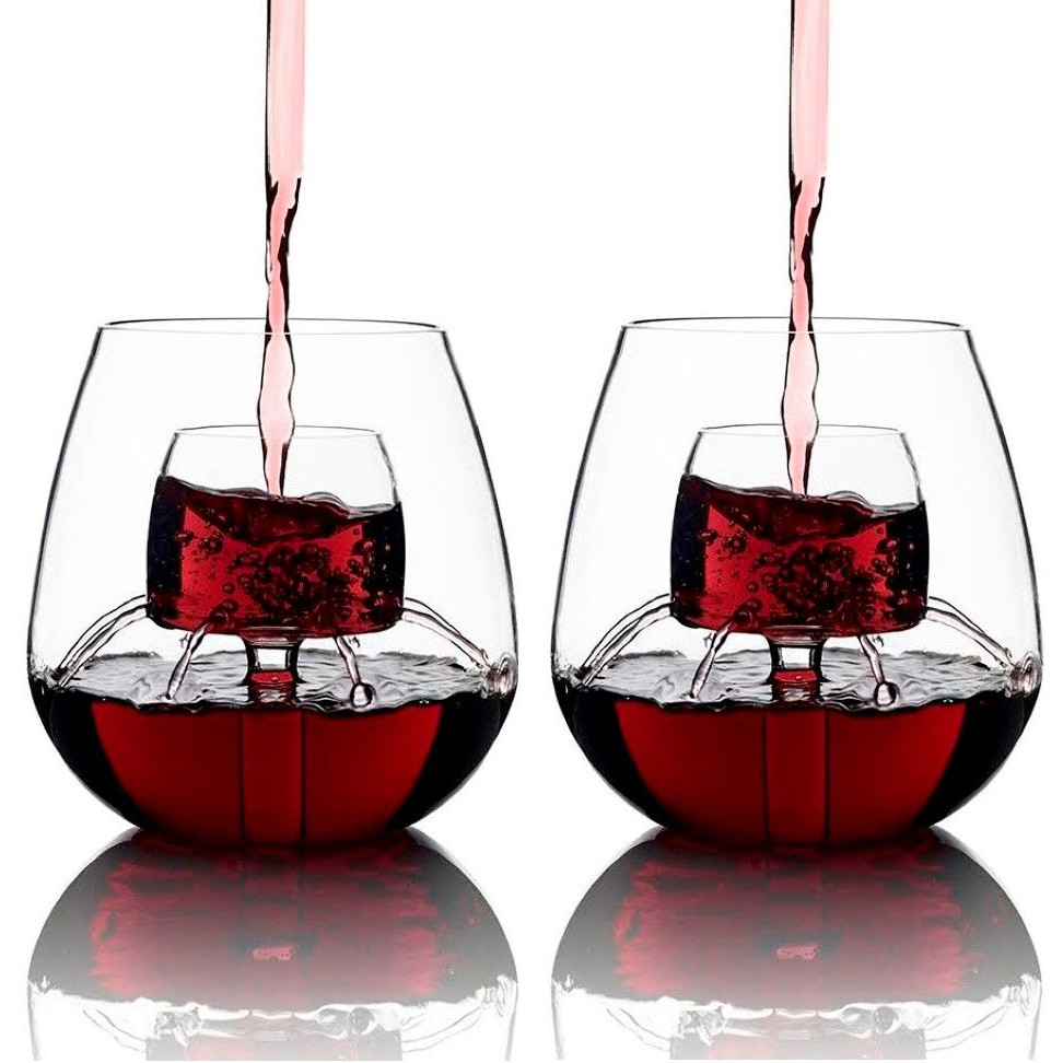 The Stemless   Set of 2