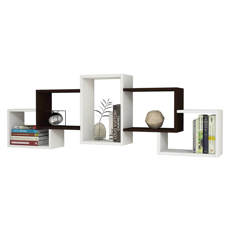 Shelf Berril   White & Wenge
