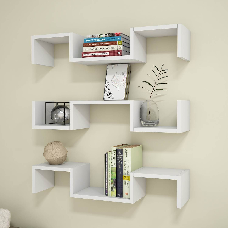 Shelf Elegant Set of 3 | White