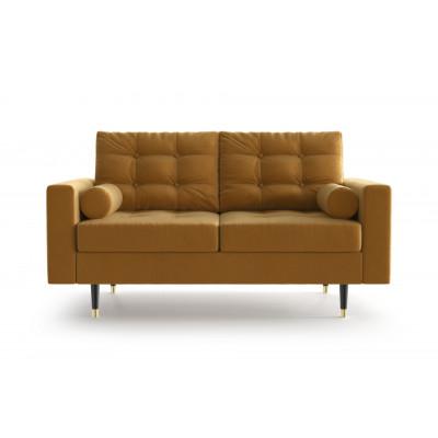 2-Sitzer-Sofa Aldo   Senf