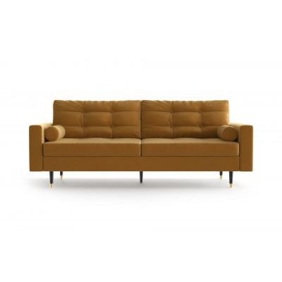 3-Sitzer-Sofa Aldo   Senf