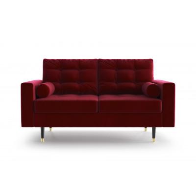 2-Sitzer-Sofa Aldo   Rot