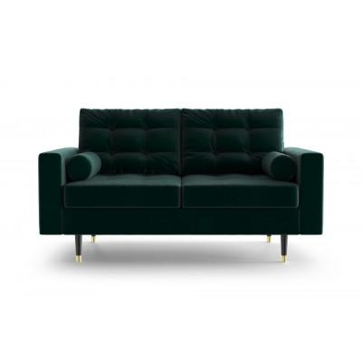 2-Sitzer-Sofa Aldo | Flasche Grün