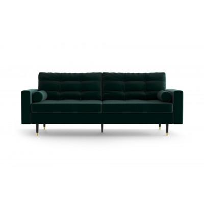 3-Sitzer-Sofa Aldo   Flasche-Grün