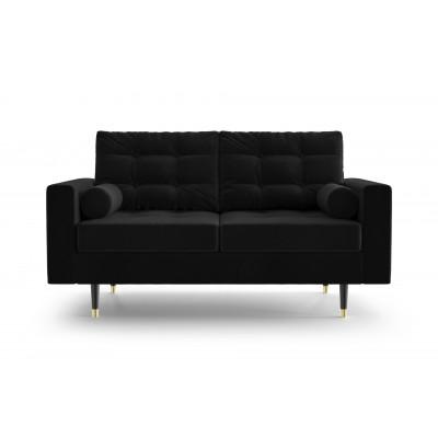 2-Sitzer-Sofa Aldo   Schwarz