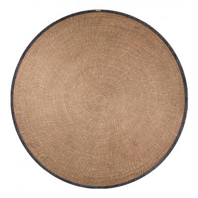 Runde Vinyl-Bodenmatte Schilfrohr