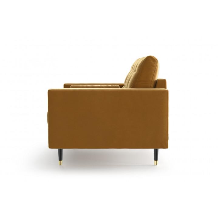 2nd Life | 2 Seater Sofa Aldo | Mustard
