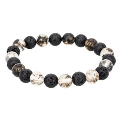 Perlenarmband | Lava