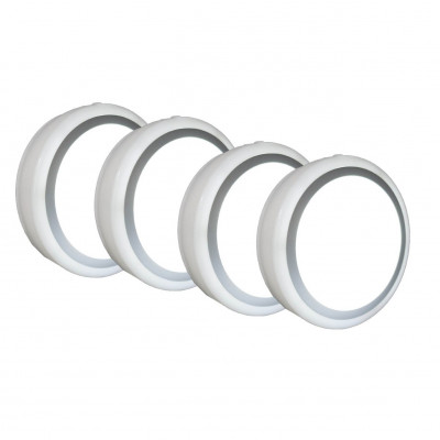 Set of 4 Motion Lights Indoor Rechargeable