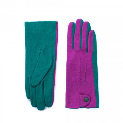 Handschuhe | Grün & Fuchsie