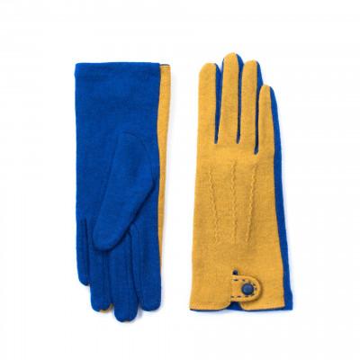 Handschuhe | Blau & Gelb