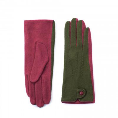 Handschuhe | Grün & Rosa