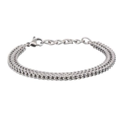 Stahl Gliederarmband | Yuri