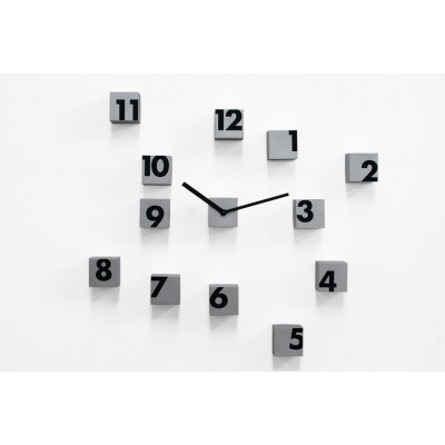 RND Time Clock Silber