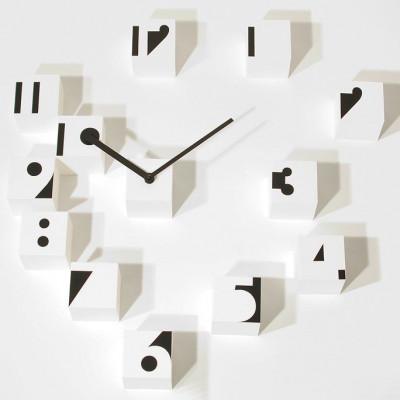 RND Time Clock Optisch | Weiß