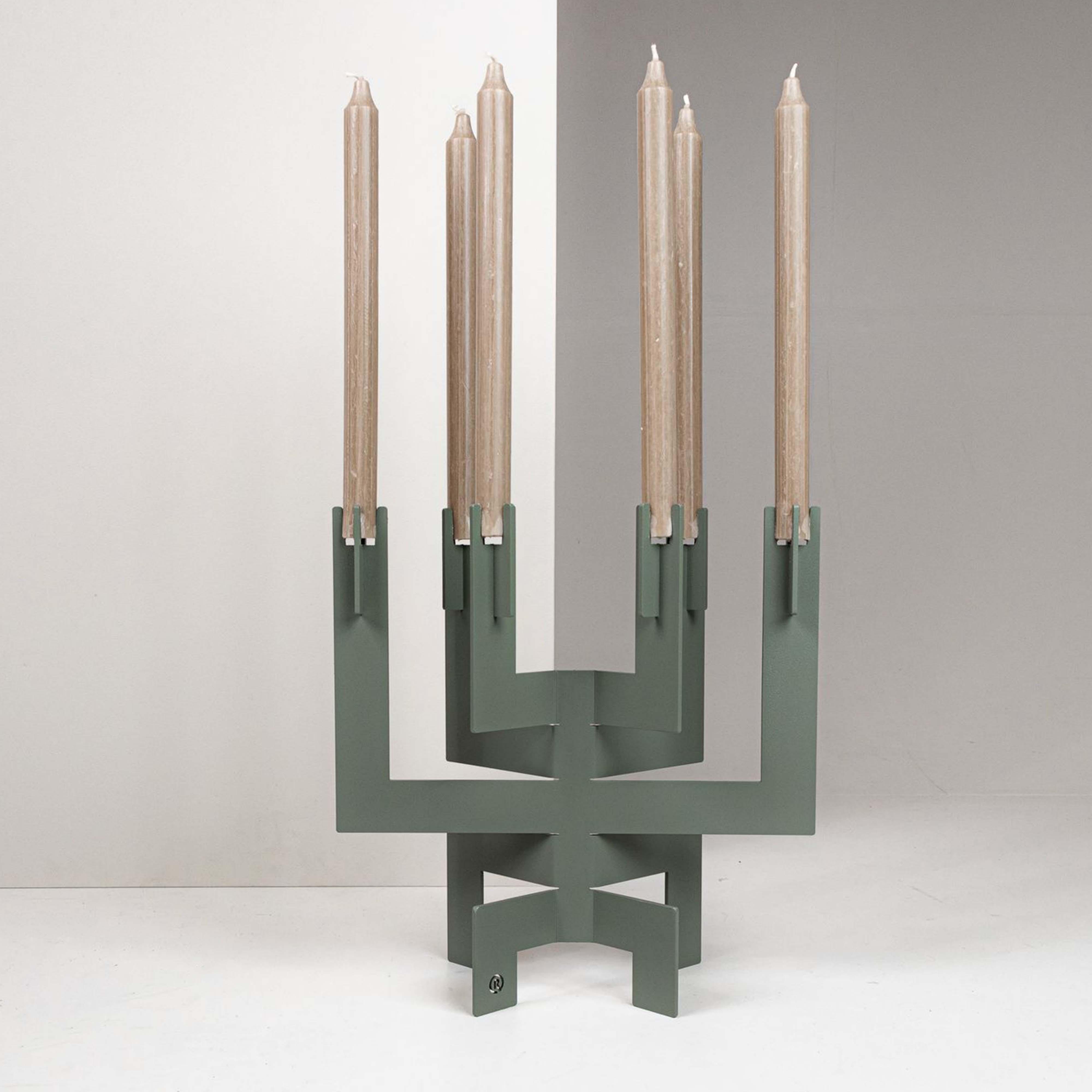 Kerzenhalter °01   Grün