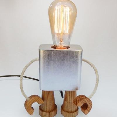 Robo Lamp | Silver