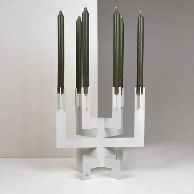 Kerzenhalter °01 | Weiß