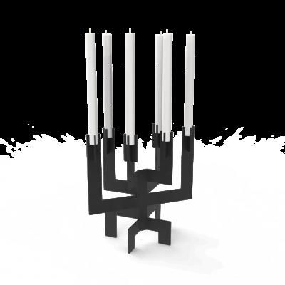 Kerzenhalter °01 | Schwarz