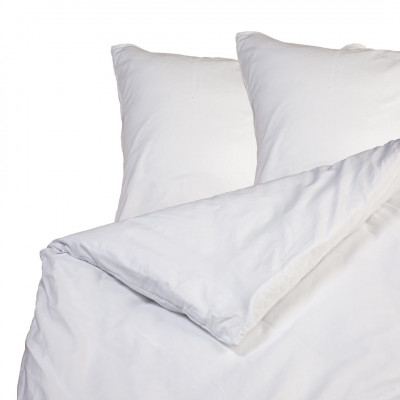 2er-Set Kissenbezüge & Bettbezug | Weiß