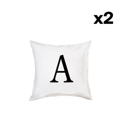 2er-Set Kissenbezügen | A