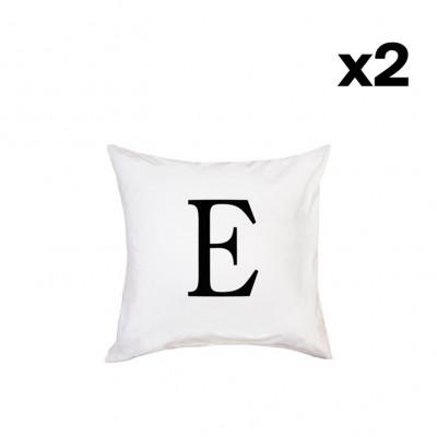 2er-Set Kissenbezügen | E