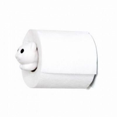 Toilettenpapierhalter Rolle Meo | Weiß