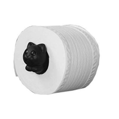 Toilettenpapierhalter Rolle Meo | Schwarz