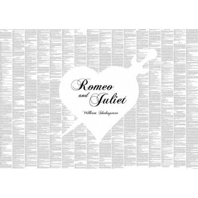 "Full Play Poster ""Romeo & Juliet"""