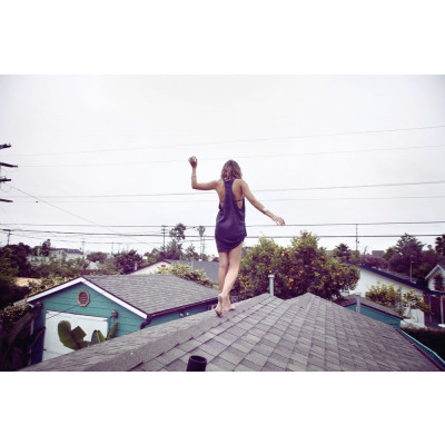 """Art Photograph """"Venice Beach Roof"""""""
