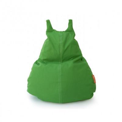 HappyCat Sitzsack aus Baumwollsegeltuch Klein   Grün