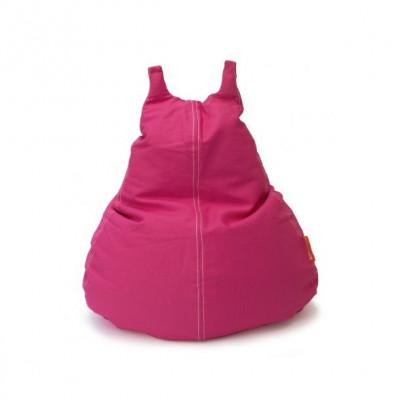 HappyCat Sitzsack aus Baumwollsegeltuch Groß   Rosa