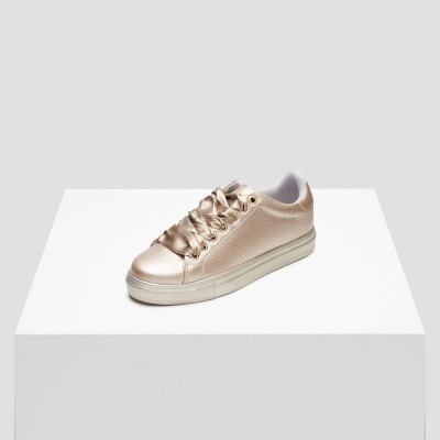 Women Sneakers   Roos 1C Gold