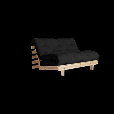 Sofa Bed Roots 140 | Raw/Dark Grey